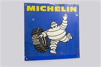 Lot 28-MICHELIN SIGN