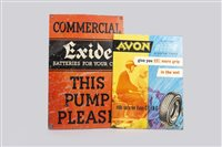 Lot 29-EXIDE SIGN AND ANOTHER