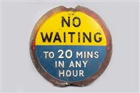 Lot 31-NO WAITING SIGN