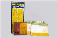 Lot 33-INDIA TYRES SIGN AND THREE OTHERS