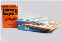 Lot 35-HISTORY OF BRITISH DINKY TOYS AND OTHER BOOKS