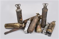 Lot 53-COLLECTION OF FIRE EXTINGUISHERS