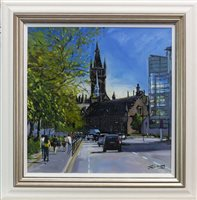 Lot 671-ON UNIVERSITY AVENUE, AN OIL BY JAMES SOMERVILLE LINDSAY