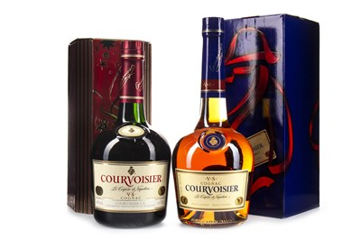 Lot 2016-TWO BOTTLES OF COURVOISIER VS