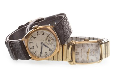 Lot 774-A GENTLEMAN'S ROTARY WATCH AND A BULOVA WATCH