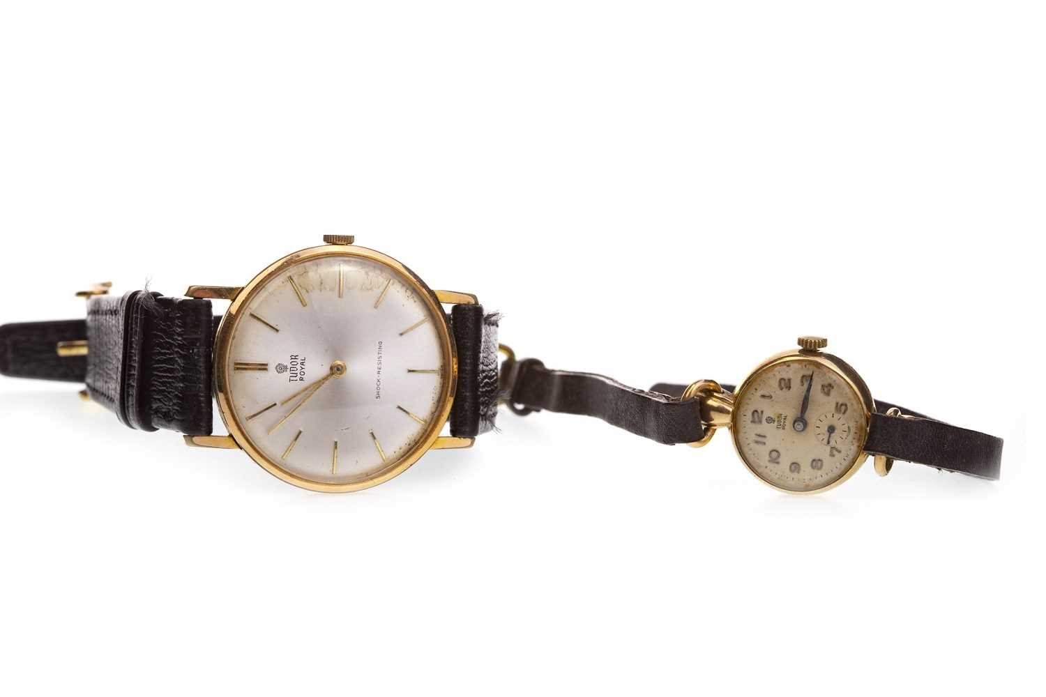 Lot 775-TWO TUDOR WRIST WATCHES
