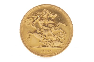 Lot 501-A GOLD SOVEREIGN, 1966