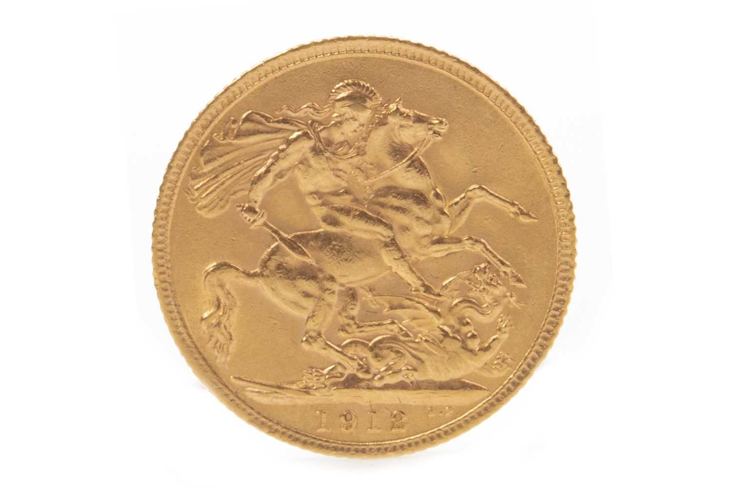 Lot 502-A GOLD SOVEREIGN, 1912