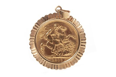Lot 503-A GOLD SOVEREIGN, 1910