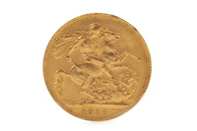 Lot 506-A GOLD SOVEREIGN, 1910