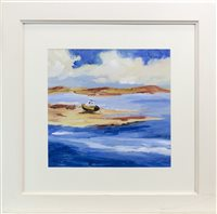 Lot 743 - ARDNAMURCHAN POINT, AN OIL BY JUNE TODD