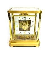 Lot 1441 - A JAEGER LE COULTRE 'ATMOS' CLOCK