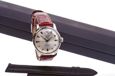 Lot 777-A GENTLEMAN'S LONGINES AUTOMATIC CONQUEST WATCH