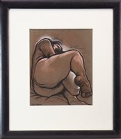 Lot 783 - PATRICK III, 1999, A PASTEL BY PETER HOWSON