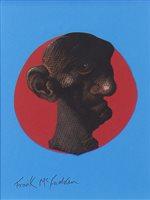 Lot 791 - TROPHY FACE II, A PASTEL BY FRANK MCFADDEN