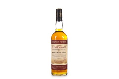 Lot 14-GLENMORANGIE 25 YEARS OLD MALAGA WOOD FINISH
