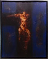 Lot 651-GHOST IN THE SHELL, AN OIL BY FRANK TO