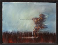 Lot 819 - DEFIANT, AN OIL BY FRANK TO