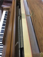 Lot 1446 - A MODERN UPRIGHT OVERSTRUNG PIANO BY KNIGHT