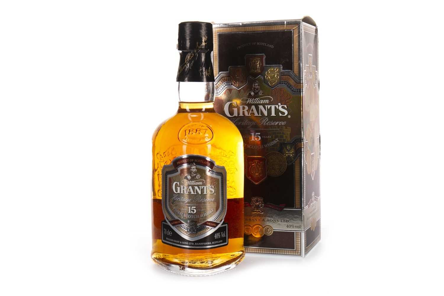 Lot 406-GRANTS 15 YEARS OLD