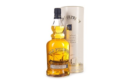 Lot 315-OLD PULTENEY 12 YEARS OLD ONE LITRE