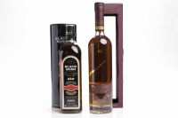 Lot 698-BUSHMILLS BLACK BUSH Irish Whiskey. Matured in...