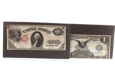 Lot 624-TWO USA BANKNOTES