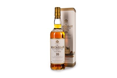Lot 23-MACALLAN 10 YEARS OLD