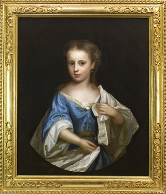 Lot 408-A PORTRAIT OF MISS CATHERINE JOHNSON OF MILTON BRYAN, BY ANTHONY RUSSELL