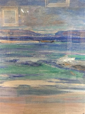 Lot 416-LOCH NA KEAL, AN OIL BY WILLIAM MERVYN GLASS