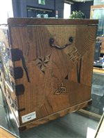 Lot 965-A 20TH CENTURY JAPANESE TABLE CABINET