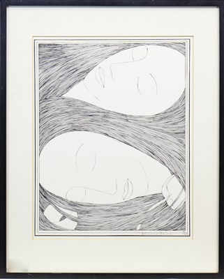 Lot 506-DREAM, A LITHOGRAPH BY HANNAH FRANK
