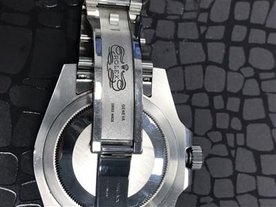 Lot 752-RARE: A GENTLEMAN'S ROLEX GMT-MASTER II 'BATMAN' WRIST WATCH