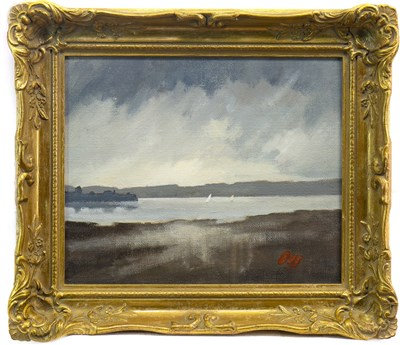 Lot 507-TROON HARBOUR, AN OIL BY JAMES ORR