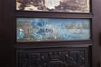 Image for A CHINESE HARDWOOD TABLE SCREEN