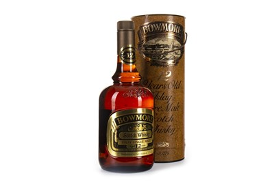 Lot 3-BOWMORE AGED 12 YEARS DUMPY BOTTLE - ONE LITRE