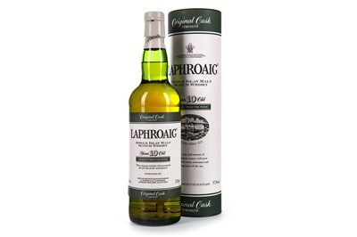 Lot 8-LAPHROAIG ORIGINAL CASK STRENGTH 10 YEARS OLD