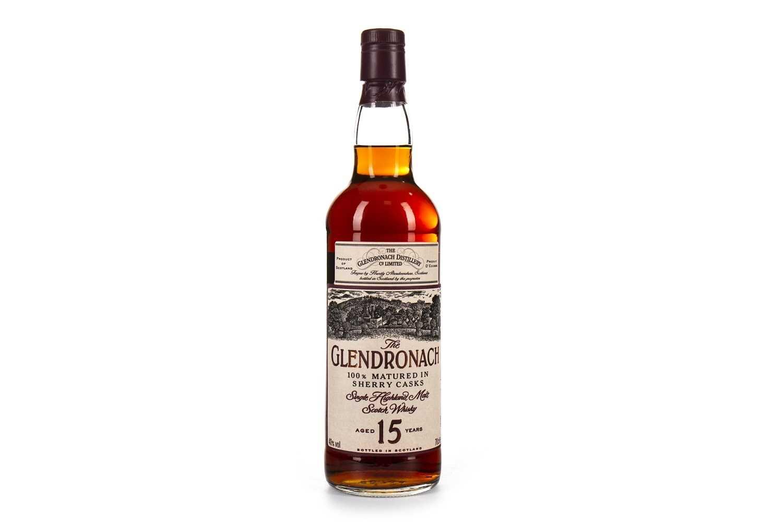 Lot 11-GLENDRONACH AGED 15 YEARS