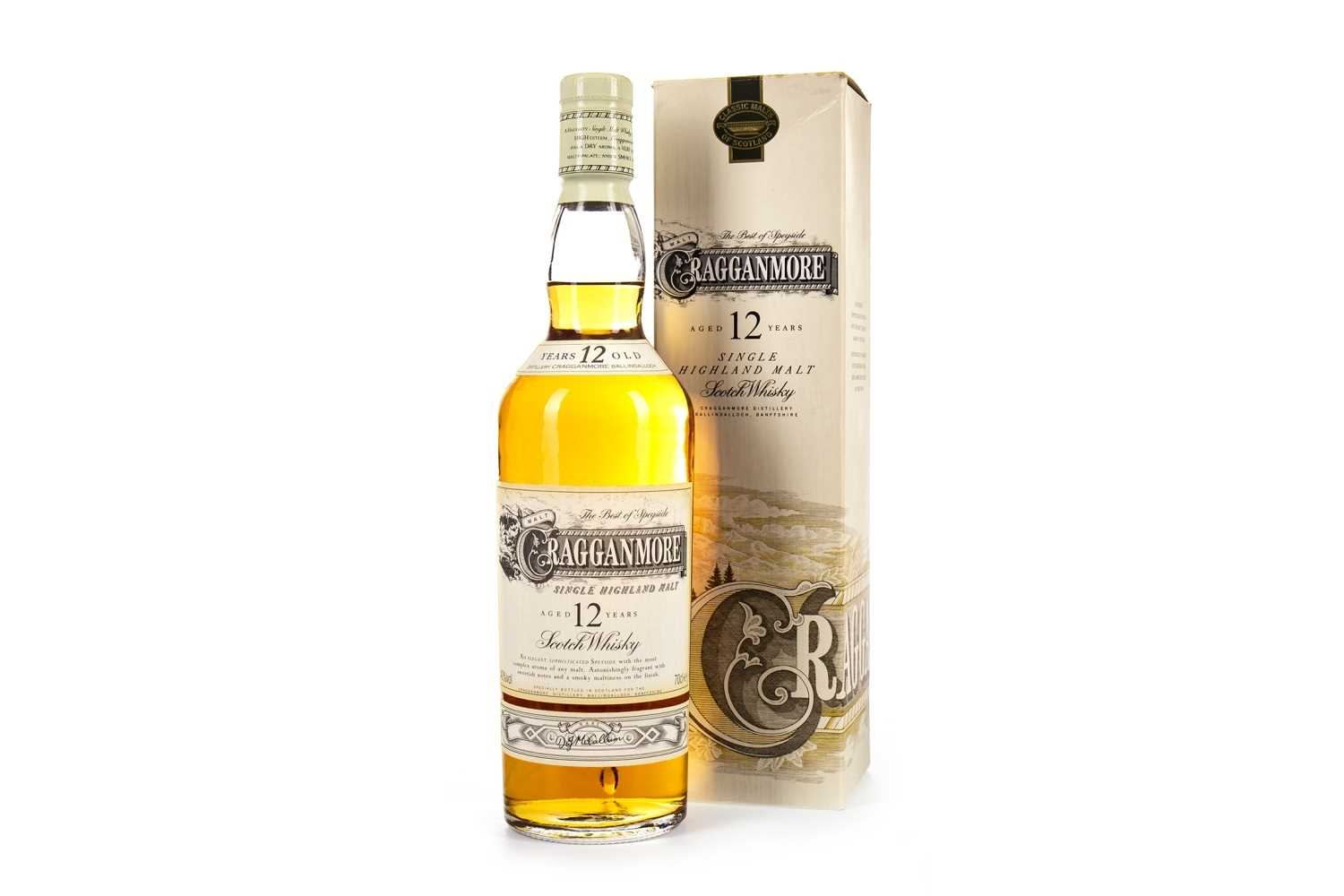 Lot 302-CRAGGANMORE AGED 12 YEARS