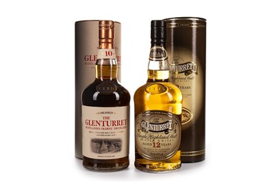 Lot 309-GLENTURRET 12 AND 10 YEARS OLD