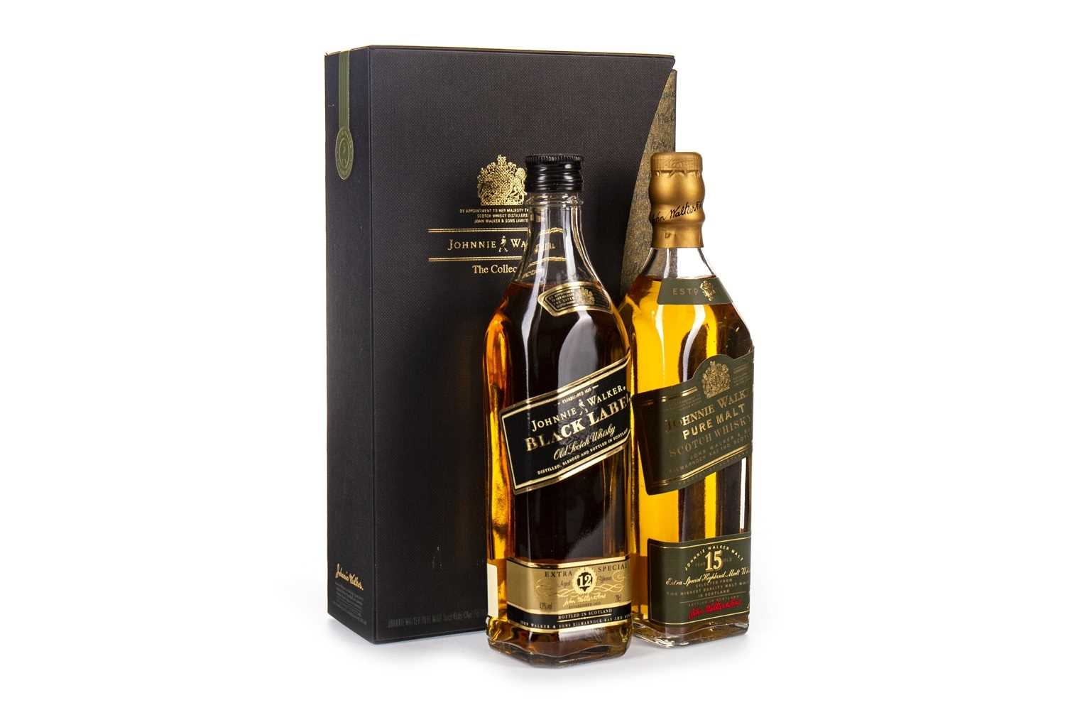 Lot 410-JOHNNIE WALKER THE COLLECTION - 2x20CL