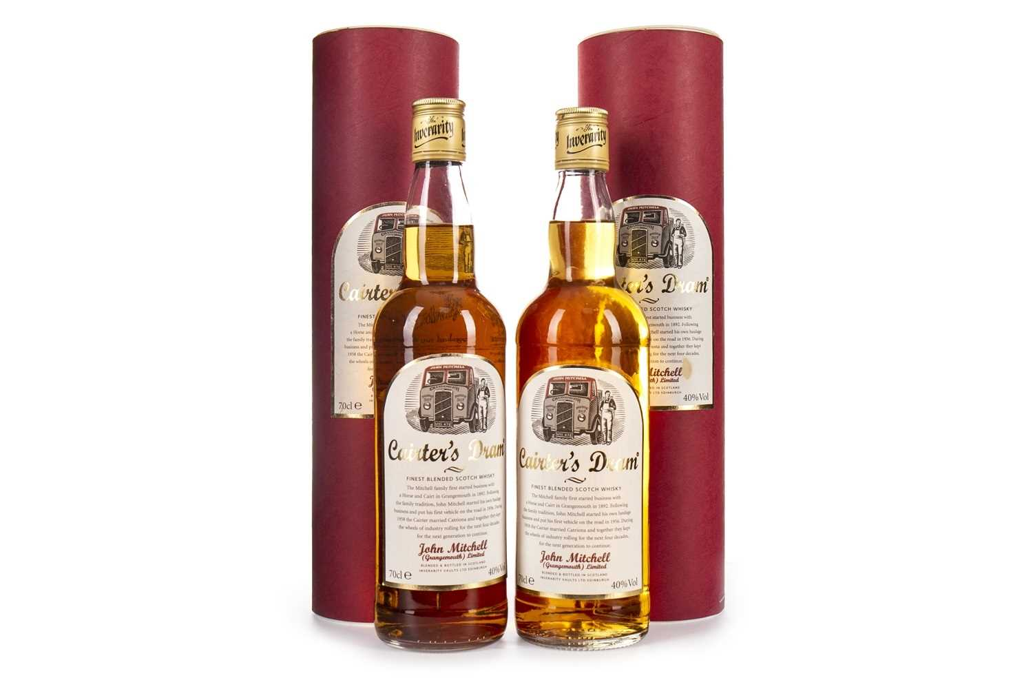Lot 411-TWO BOTTLES OF CAIRTERS DRAM