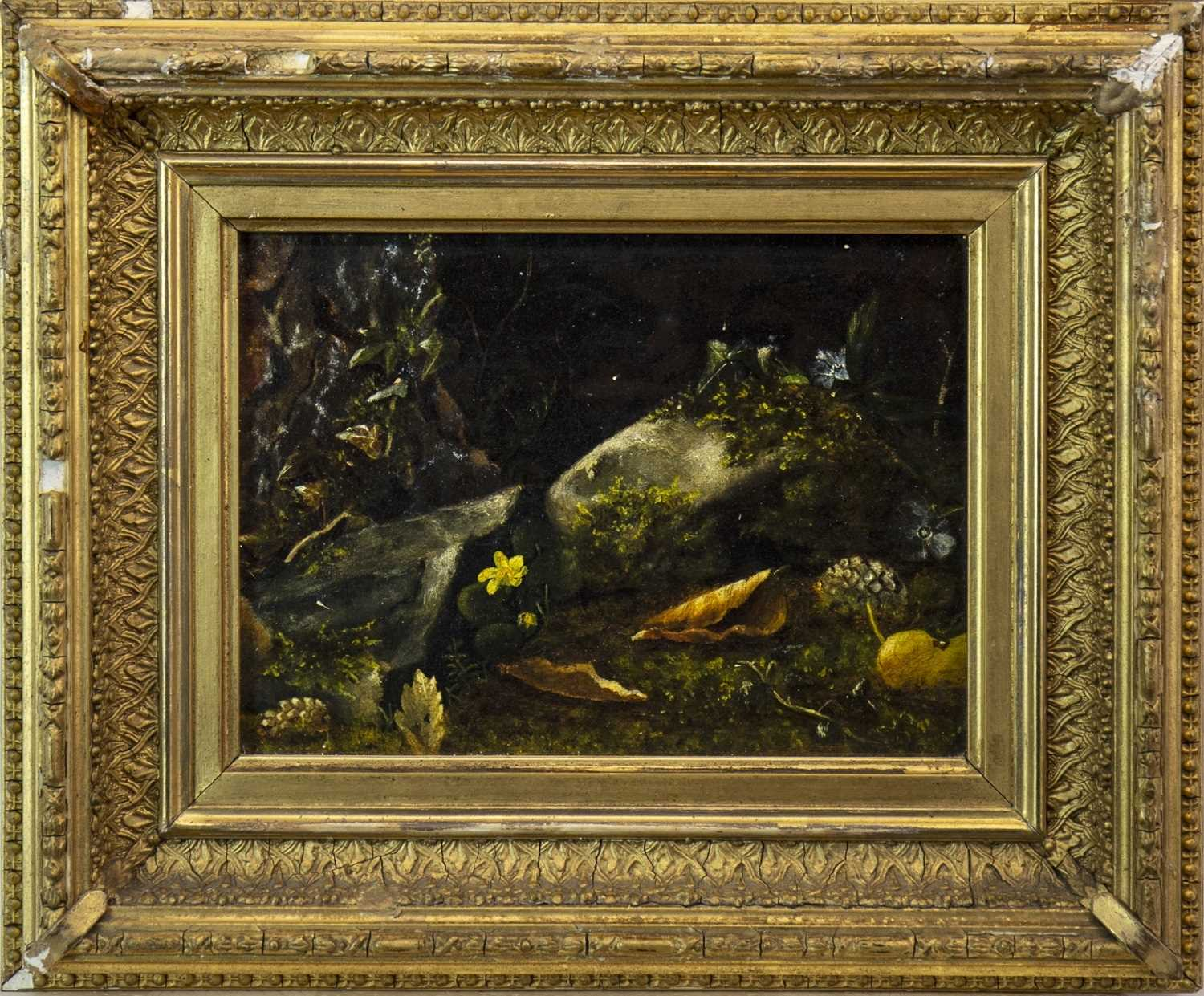 Lot 606-A PAIR OF OILS