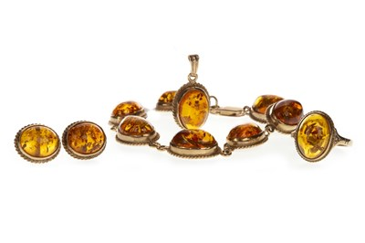 Lot 79-A SUITE OF BALTIC AMBER JEWELLERY