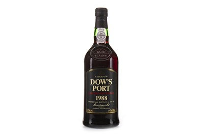 Lot 2027-DOW'S LATE BOTTLED VINTAGE 1988