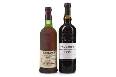 Lot 2029-TAYLOR'S LBV 1999 & 20 YEAR OLD TAWNY