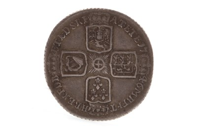 Lot 625-A GEORGE II LIMA SIXPENCE, 1746