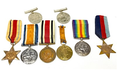 Lot 808-A COLLECTION OF WWI AND WWII MEDALS