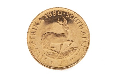 Lot 510-A SOUTH AFRICAN GOLD 2 RAND COIN