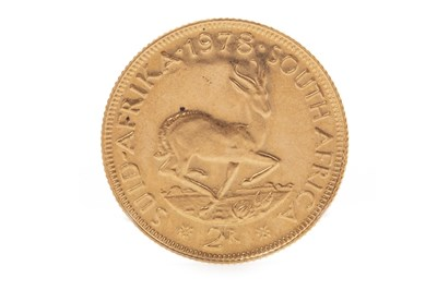 Lot 511-A SOUTH AFRICAN GOLD 2 RAND COIN